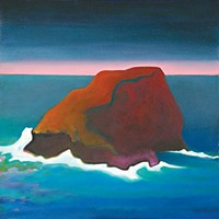 Rock On Ingrid Nickelsen: 'Yulpits,' oil on canvas