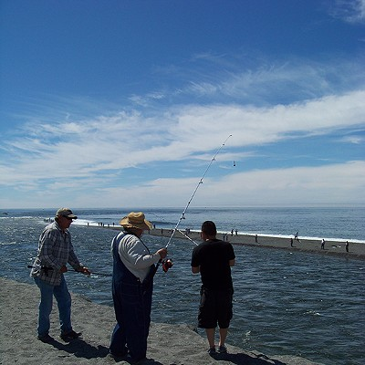 Combat Fishing on the Klamath