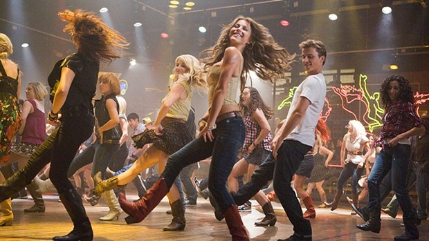 It's hip to be square-dancing in Footloose
