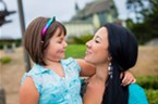 Ivy and her mom, Sherae O'Shaughnessy.