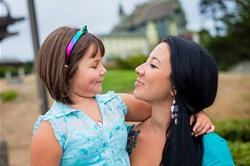 PHOTO BY HUMBOLDT PHOTOGRAPHY - Ivy and her mom, Sherae O'Shaughnessy.