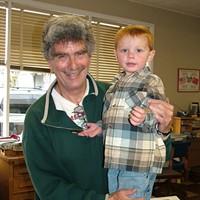 Jack Mays Photos Jack Mays and his grandson Garret Mays in 2005. Photo courtesy The Ferndale Enterprise/Caroline Titus