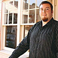 Upward Bound No More Jared Chase-Dunn graduated from Veterans Upward Bound in 2006 and is a business and German major at Humboldt State. Photo by Yulia Weeks.