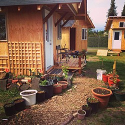 PHOTO COURTESY OF OPPORTUNITY VILLAGE EUGENE - Jim Hight thinks a micro housing village could work in eureka