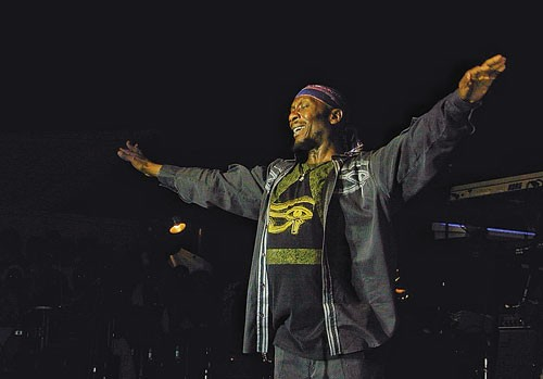 Jimmy Cliff at Reggae on the River.
