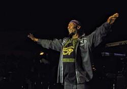 PHOTO BY BOB DORAN. - Jimmy Cliff at Reggae on the River.