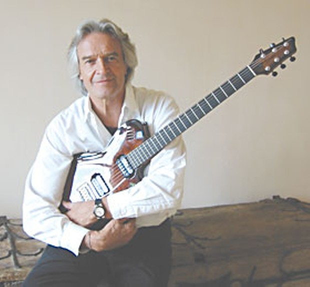 John McLaughlin. Photo by Bob Doran