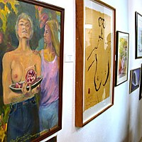 "Wounded Healers ""Journey of the Heart"" at the Westhaven Center for the Arts. Photo by Helen Sanderson."
