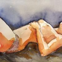 """Joyce Jonté's watercolor """"Fragile."""""""