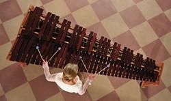 PHOTO COURTESY OF MARIMBA ONE - Katarzyna Myćka at a Marimba One.