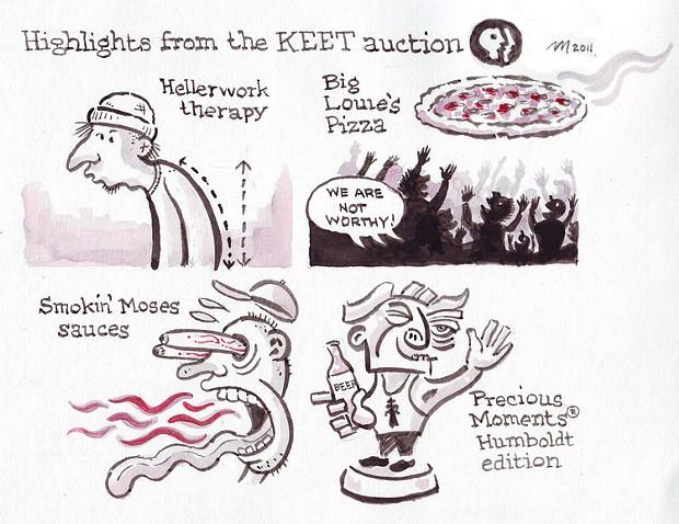 KEET Auction Highlights