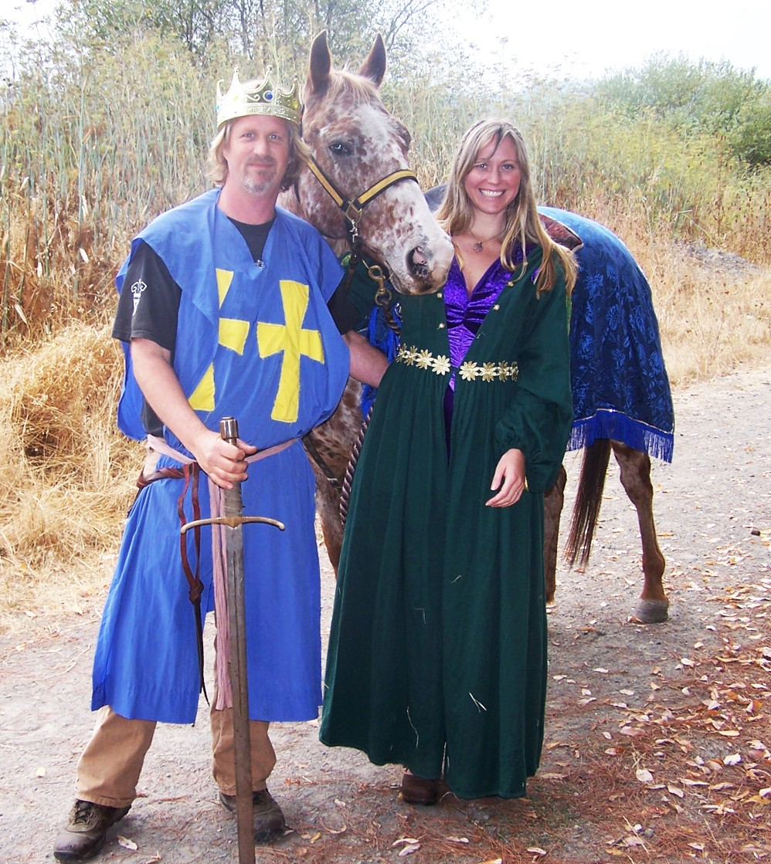 Knight and Lady - COURTESY OF COASTAL GROVE