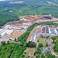 Korbel, California, sawmill operations.