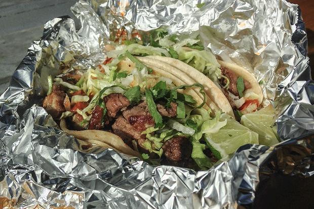 Korean tacos worth a schlepp. - JENNIFER FUMIKO CAHILL