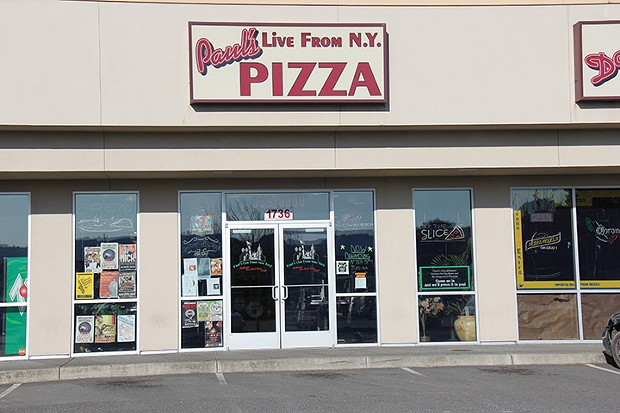 Goodbye to Paul's Live From New York Pizza's McKinleyville restaurant