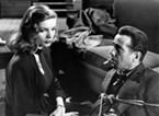 Lauren Bacall and Humphrey Bogart in The Big Sleep