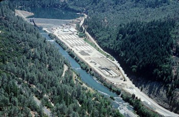 Lewiston Dam - PHOTO COURTESY THE BUREAU OF RECLAMATION