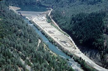 Lewiston Dam - PHOTO COURTESY THE BUREAU OF RECLAMATION
