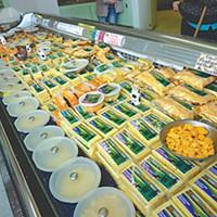 Best Of Humboldt -- Staff Picks Loleta Cheese Factory samples. Photo by Ryan Burns