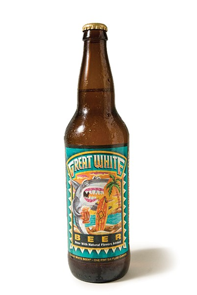Lost Coast Brewery's Great White - COURTESY LOST COAST BREWERY