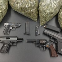 Lots O' Guns and Weed on O Street Eureka