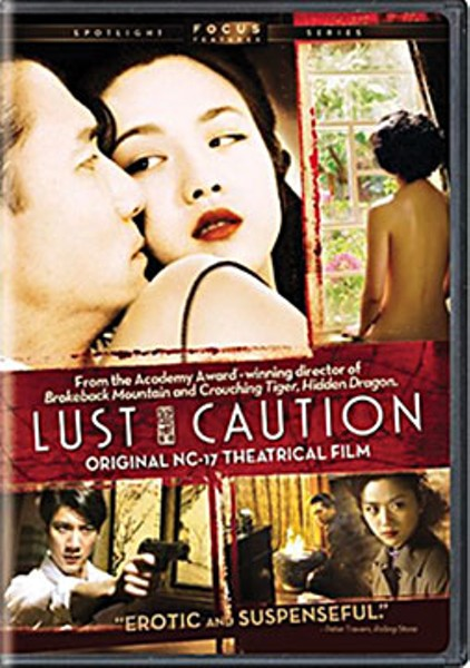 Lust, Caution directed by Ang Lee