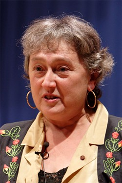 PHOTO BY JAVIER PEDREIRA, WIKIMEDIA COMMONS - Lynn Margulis, biologist, 1938-2011