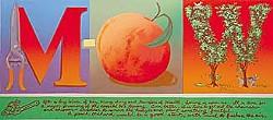 """M-Peach-W"" by Michael Guerriero"