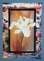 Marisa Kielselhorst's paintings, blending representational and abstract elements, are at Robert Goodman Wines.