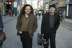 Martin Hayes and Dennis Cahill. Photo by Derek Speirs