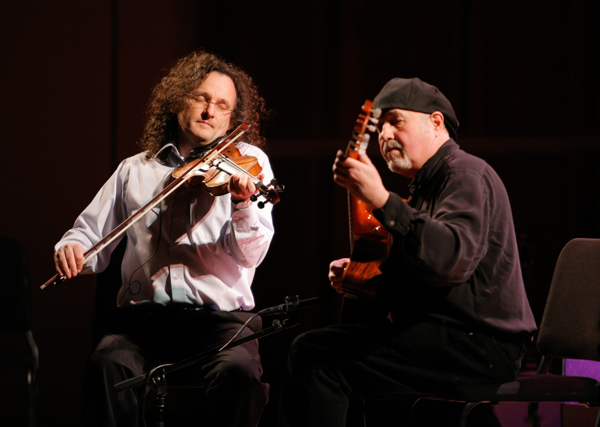Martin Hayes and Dennis Cahill - PHOTO BY ERIN BAIANO