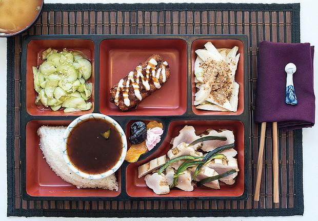 Masaki's Kyoto Lunch Box. - MARK MCKENNA