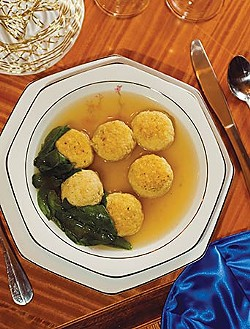 Matzoh Ball soup. File photo.