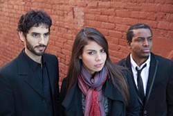 Melissa Aldana and Crash Trio with Pablo Menares and Francisco Mela