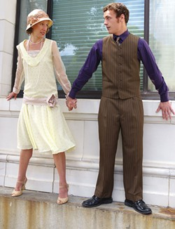 PHOTO COURTESY OF HUMBOLDT LIGHT OPERA COMPANY - Melissa Hinz and Gino Bloomberg in HLOC's Thoroughly Modern Millie