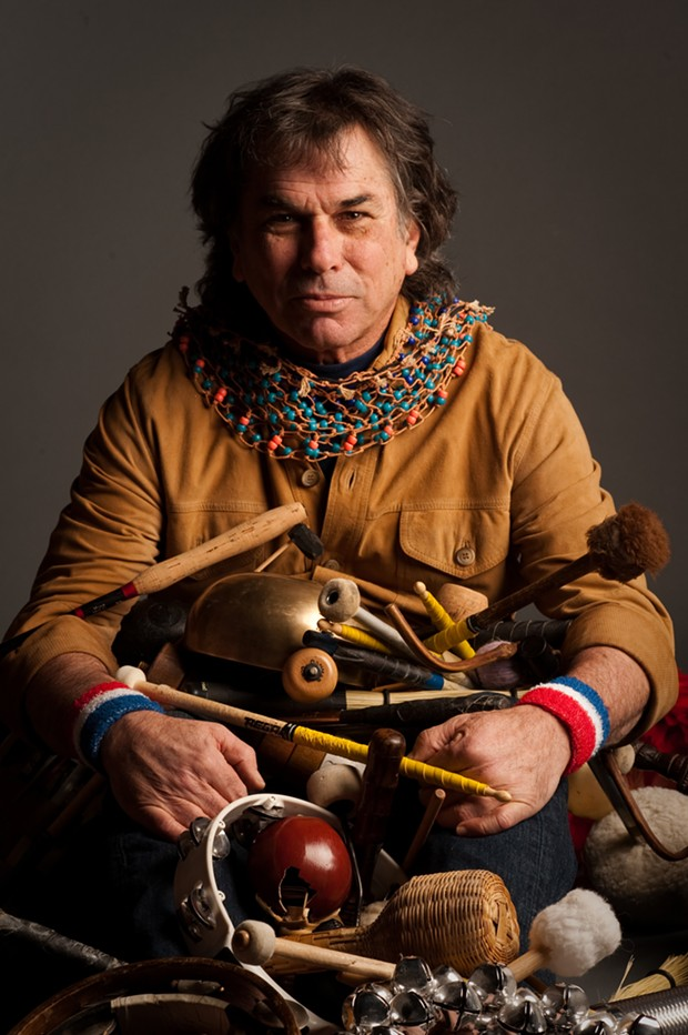 Mickey Hart - PHOTO BY MICHAEL WEINTROB