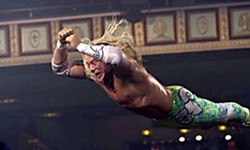 "Mickey Rourke in the title role of Randy ""The Ram"" Robinson in 'The Wrestler'"