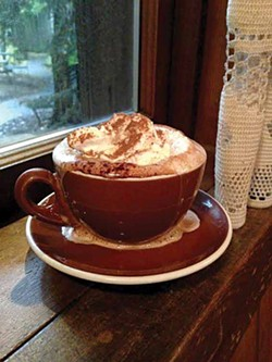 PHOTO BY JENNIFER FUMIKO CAHILL - Mocha for a rainy day.