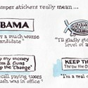 More Bumper Sticker Meanings