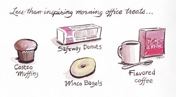 Morning Office Treats