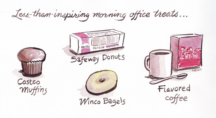 Morning Office Treats - JOEL MIELKE