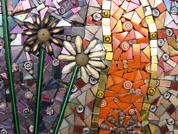 BY BARBARA WRIGHT - Mosaic Flowers
