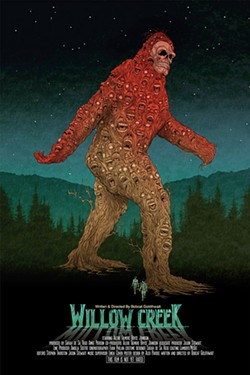 Movie poster for Bobcat Goldthwait's Willow Creek.