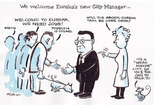 New Eureka City Manager