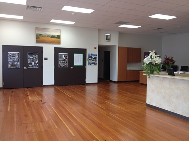 Inside the new Betty Kwan Chinn Day Center for the homeless. - PHOTO BY HEIDI WALTERS