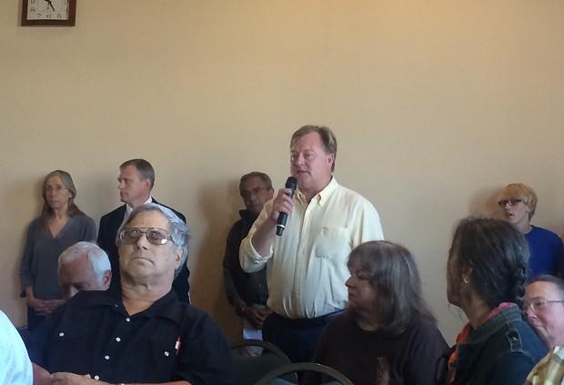Arcata Mayor Mark Wheetley
