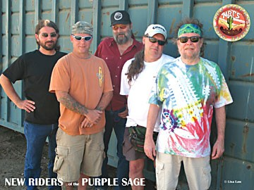New Riders of the Purple Sage. Photo by Lisa Law