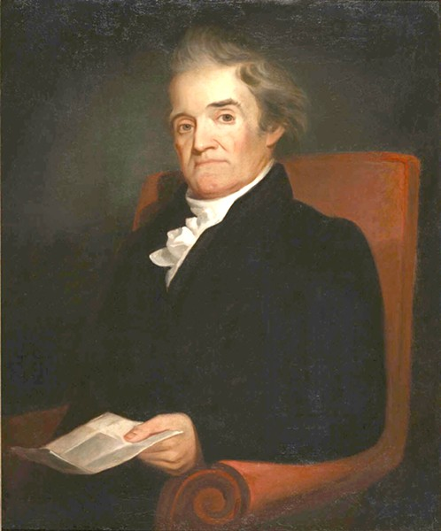 "Noah Webster (1758-1843) published 385 editions of The American Spelling Book in his lifetime, whereby the ""pedantry"" of British spelling was superseded by ""natural"" American spelling. - PUBLIC DOMAIN, WIKIPEDIA COMMONS"