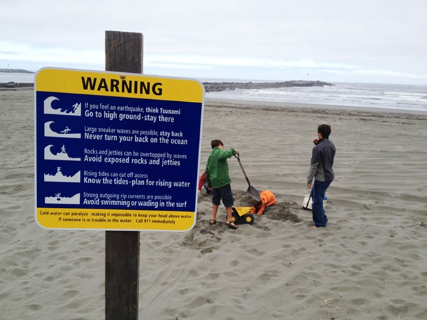 Warnings signs are now posted at most local beaches. - NOAA