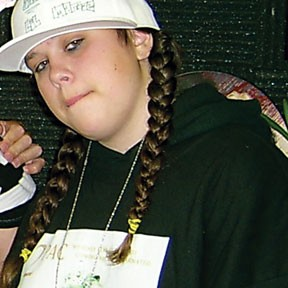 $Nub, aka Lil Maniac, performs Saturday, Feb. 2, at The North Coast Myspace Party, held at the Eureka Vets Hall.